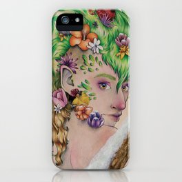 Wandering Season iPhone Case