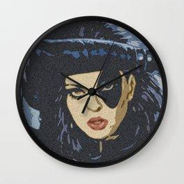 La Femme au Pistolet Wall Clock