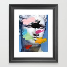 Composition 496 Framed Art Print