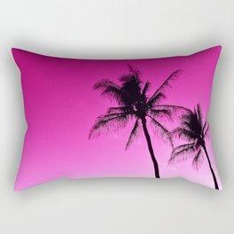 Pink Aloha Rectangular Pillow