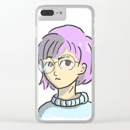 Pastel Sweetheart Clear iPhone Case
