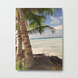 Domenicana beach Metal Print