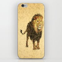 leo iPhone & iPod Skins featuring LEO by SensualPatterns