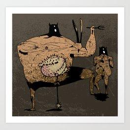 curmudgeon Art Print