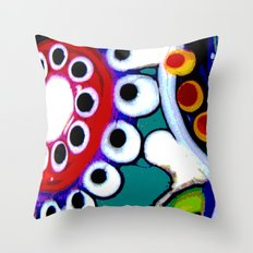 Space World Throw Pillow
