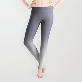 Lilac Gray Ombre Leggings