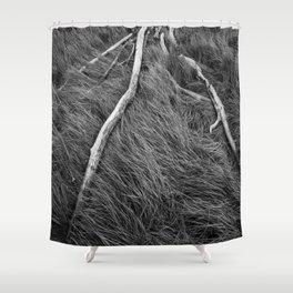 WOOD Shower Curtain