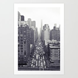 flying over first... Art Print