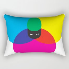 CMYKAT Rectangular Pillow