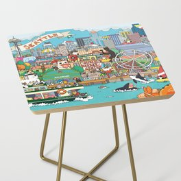 Seattle cats Side Table