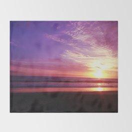 Purple Daze Throw Blanket
