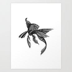 Celty the Ornate Fish Art Print