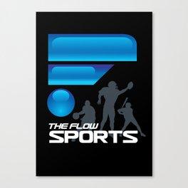 The Flow Sports Radio Canvas Print