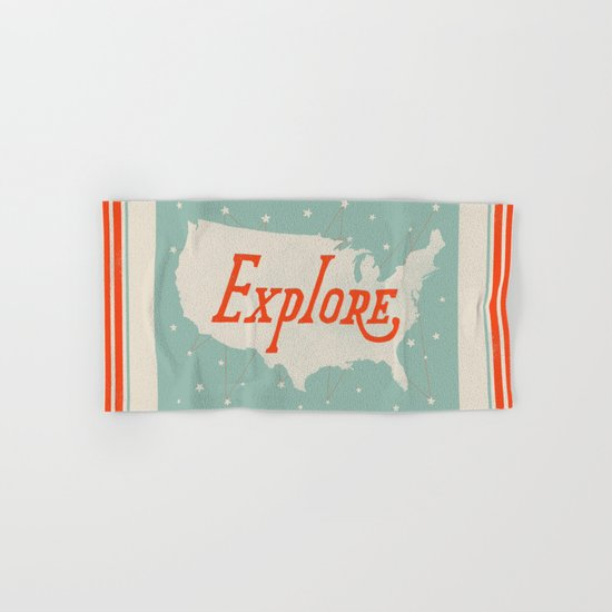 Explore Hand & Bath Towel