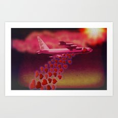 LOVE FROM ABOVE - 103 Art Print