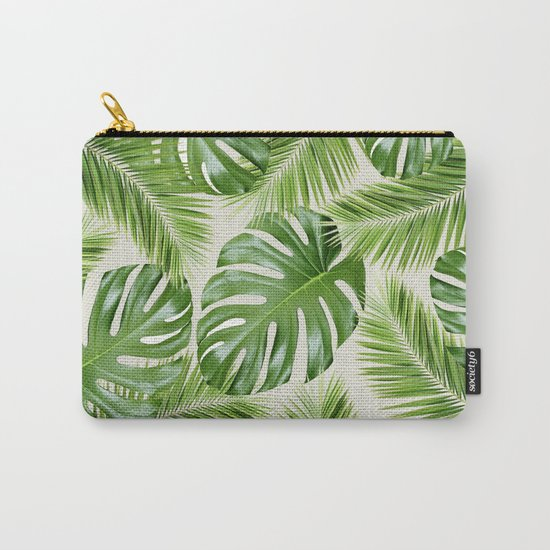 I Need a Tropical Vacation Print Carry-All Pouch