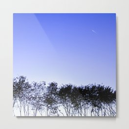 Because the sky is blue Metal Print