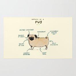 Anatomy of a Pug Rug