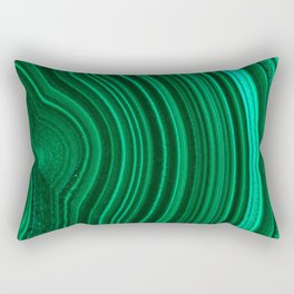 Malachite no. 2 Rectangular Pillow