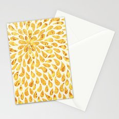 Golden Drops Pattern - for iphone Stationery Cards
