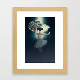 Columbina moonlight Framed Art Print