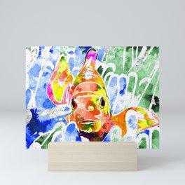 Clownfish Mini Art Print