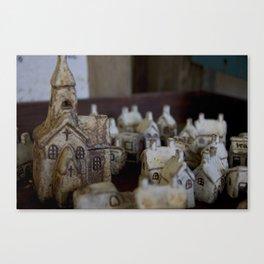 Ceramic Town Canvas Print