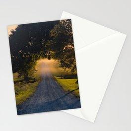 Best Farm Tree Sunset 1 Stationery Cards