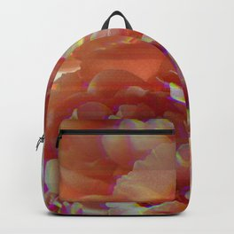 Glitching Peonies Backpack