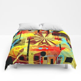 The sun chariot for a day Comforters
