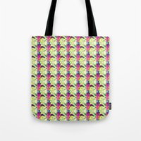 trippy Tote Bags featuring Trippy by Idle Amusement
