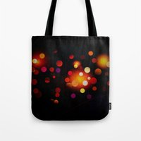 dots Tote Bags featuring Dots by haroulita