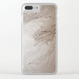 #250 #Painting #Gold on previous #Visions Clear iPhone Case