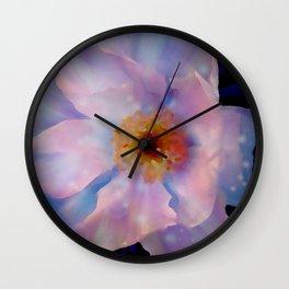 Imagined Beauty Digital Photography By James Thomas Ryan Wall Clock