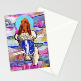 Divine dogs -- Bloodhound Stationery Cards