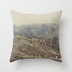 Hit the Trails Throw Pillow