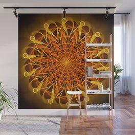 The mandala of energy Wall Mural