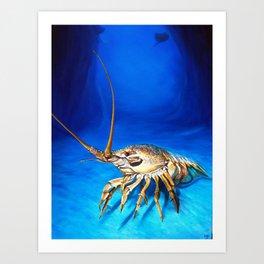 'Crayfish' Art Print