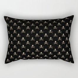 Skulls Mini Rectangular Pillow