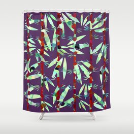 Bamboo in the Wilderness Shower Curtain