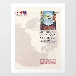 1987 Souvenir Cover Art Print