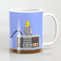 gamer Mugs featuring Gamer 'Tiel by Courtney Tye