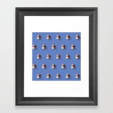 Phasma Flat Design Mosaic Framed Art Print