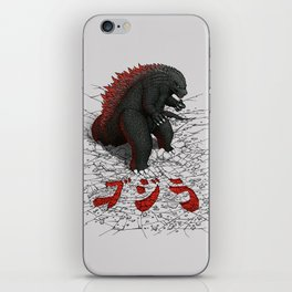 The Great Daikaiju iPhone Skin