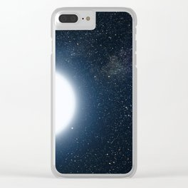 G Bacon - Sirius A and B (2005) Clear iPhone Case
