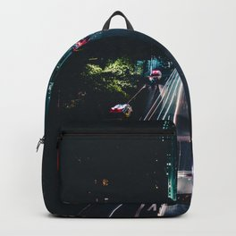 New York City Night Life (Color) Backpack