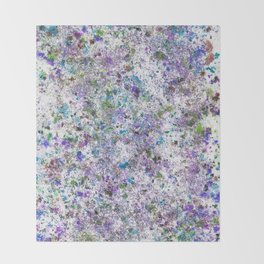 Abstract Artwork Colourful #6 Throw Blanket