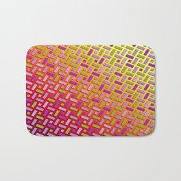 Braided polygons Bath Mat
