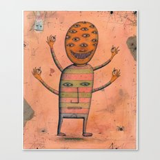 I, Monster Canvas Print