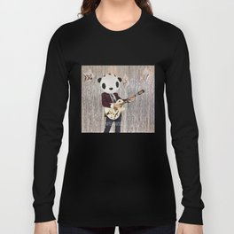 Peter Panda Rocking Out Long Sleeve T-shirt